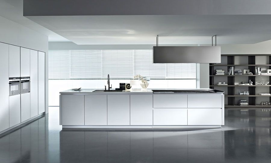 Cucina bianca moderna 02 | Cucine | Pinterest