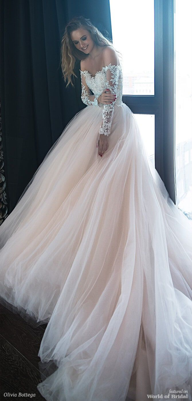 Olivia Bottega 2018 Wedding Dresses #gorgeousgowns