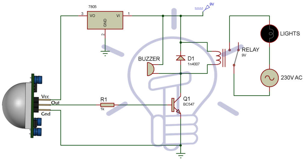 Infrared Motion Detector Circuit Circuit Diagram Working Applications Motion Detector Circuit Diagram Electrical Circuit Diagram