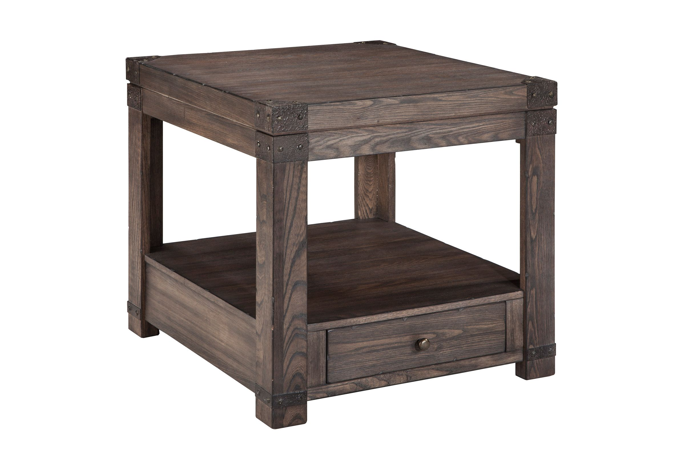 Burladen Chair End Table By Ashley In 2020 Chair Side Table End