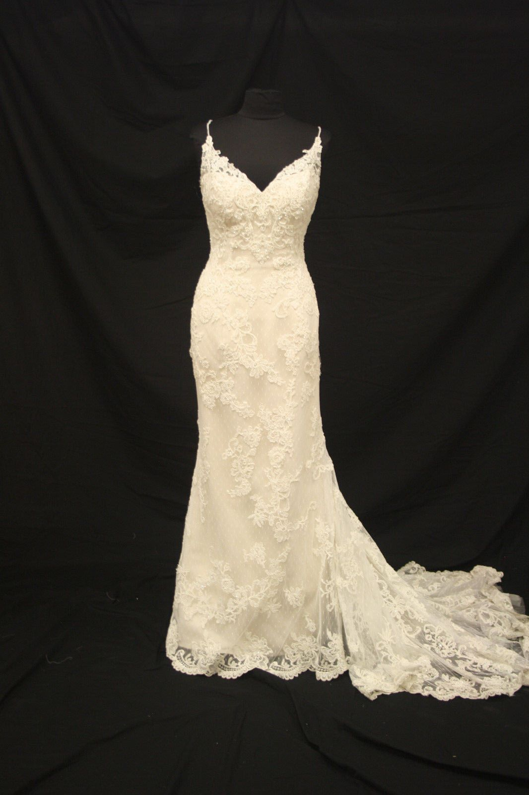 Awesome amazing casablanca wedding gown bridal dress sz