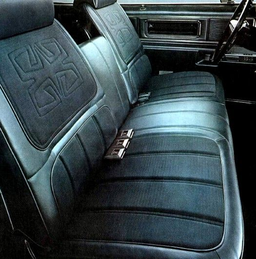 1969 Toronado Optional Custom Interior With Strato Bench