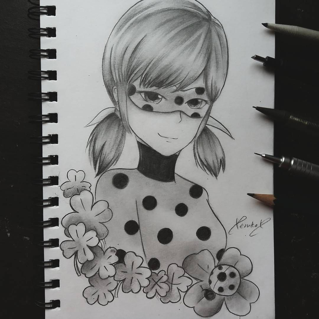 """(@xerukax) on Instagram: """"#repost {Luckyyyy Charm!} Exams are finally over! Here's some ladybug to celebrate my arrival to…"""""""