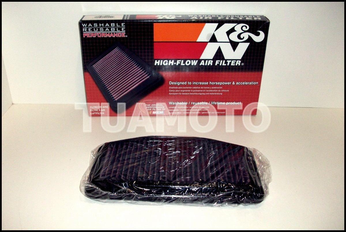 Filtro De Aire K&n Para Yamaha R1 2009 Al 2013 Tuamoto - $ 1.730,00 en MercadoLibre