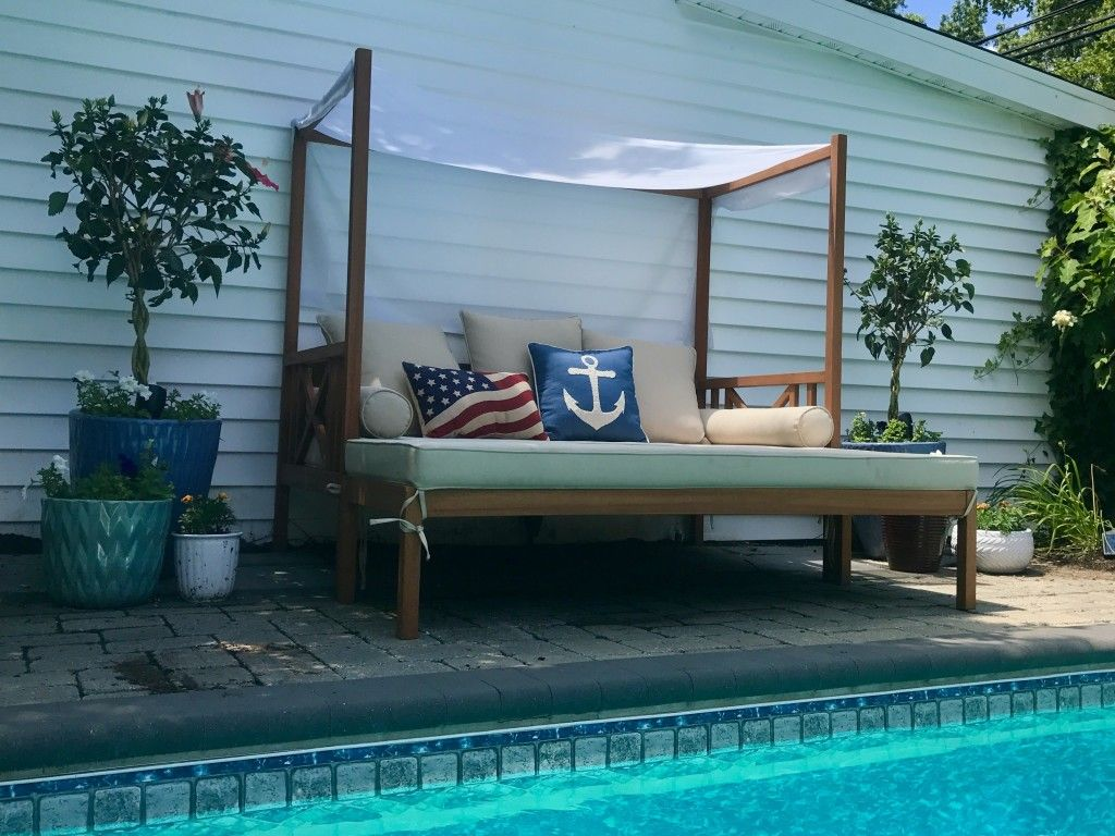 Belham Living Brighton Outdoor Daybed and Ottoman ... on Belham Living Brighton Outdoor Daybed  id=40425