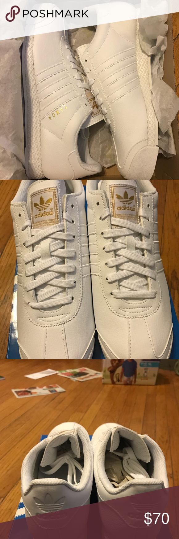 fare un'offerta a brand new white samoa dalla adidas nwt le adidas