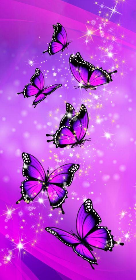 51 ideas butterfly wallpaper iphone purple   Butterfly ...