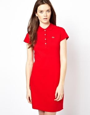 aeac8228956 Lacoste Polo Shirt Dress perfect for the more sporty female | Style ...