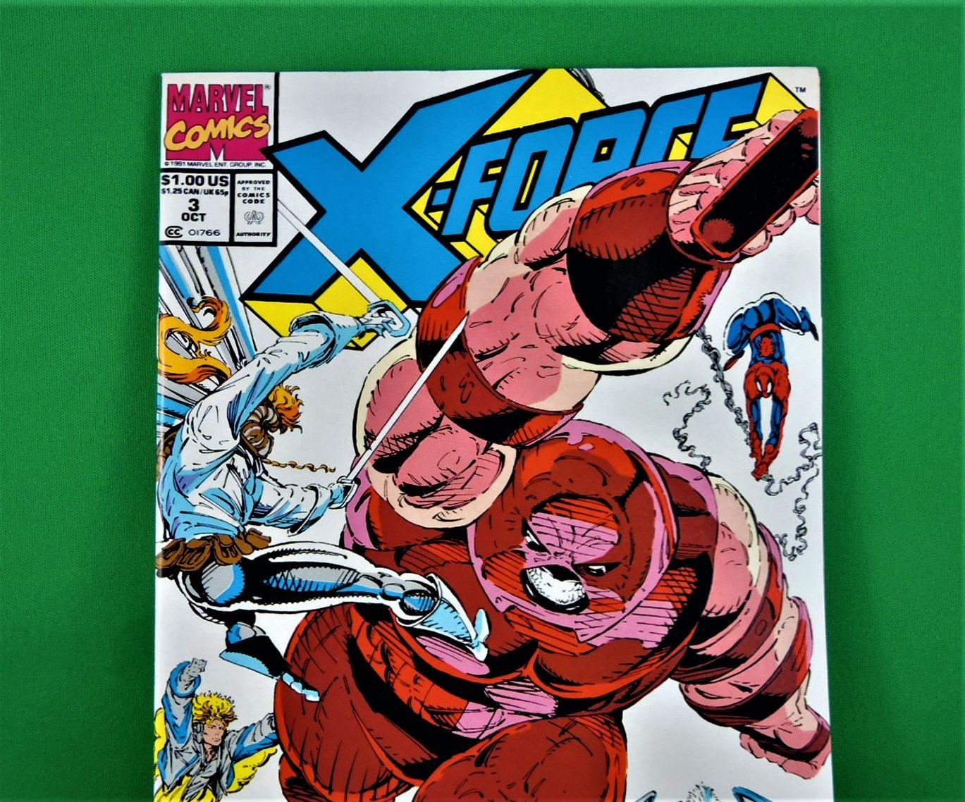 Marvel Comics X Force 3 October 1991 In 2020 Marvel Comics Marvel Comics