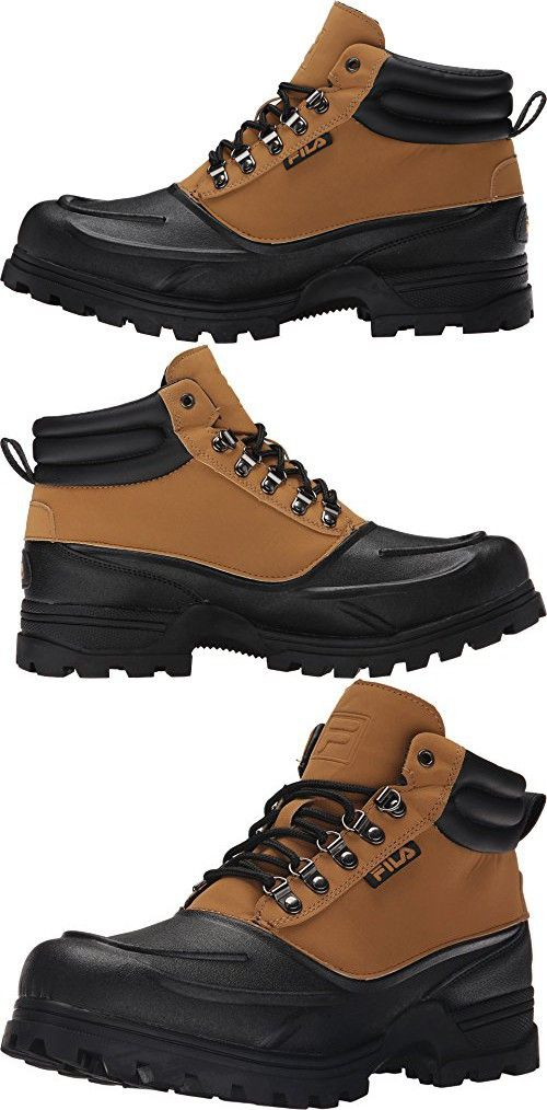 Fila Men's Weathertec Hiking Boots, Tan