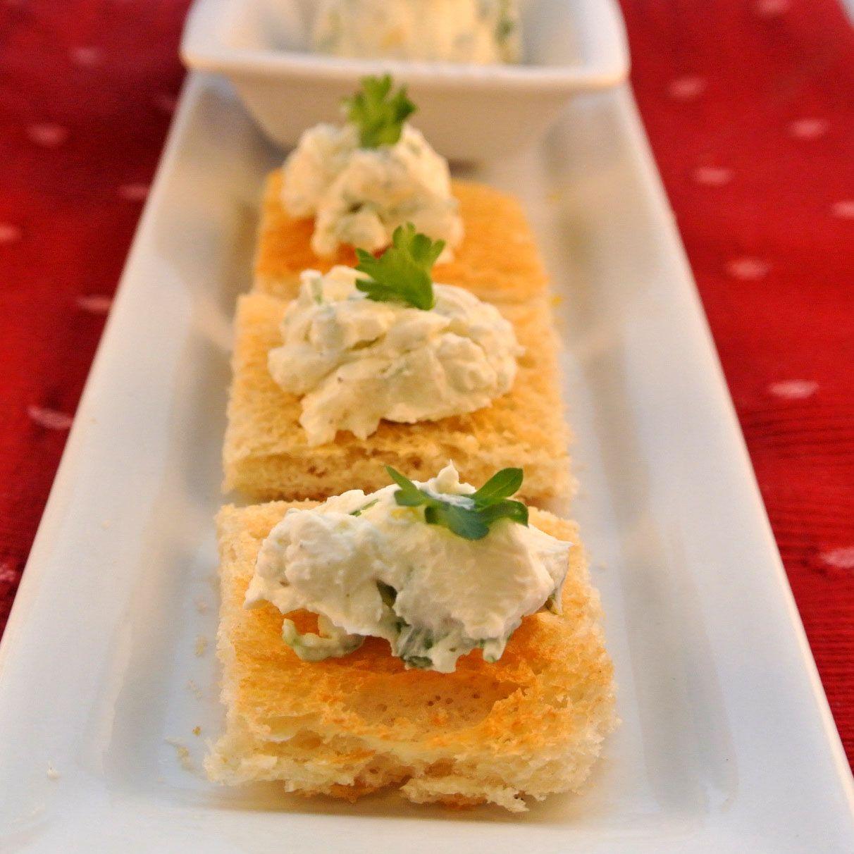 Homemade Boursin Lemon Garlic Cheese Spread Recipe