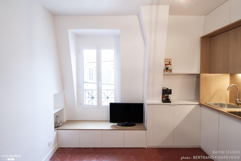 2 Pieces De 21 M Batiik Studio Cote Maison Plans Petits Appartement Interieurs De Toute Petite Maison Minuscules Appartements