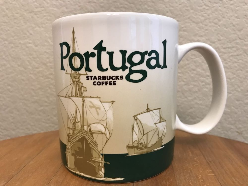 Starbucks Portugal Global Icon City Collector Series 16