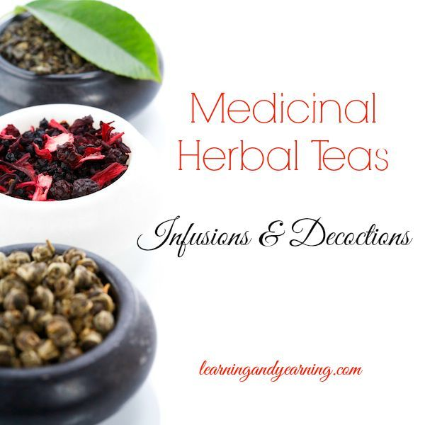Learn to make medicinal herbal tea by either infusing or decocting parts of medicinal plants. The method will be determined by the part of the plant used.
