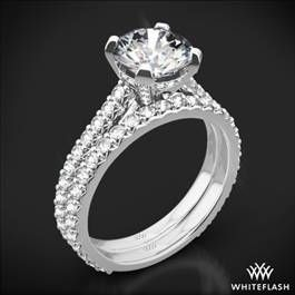 """Elena"" Diamond Wedding Set"