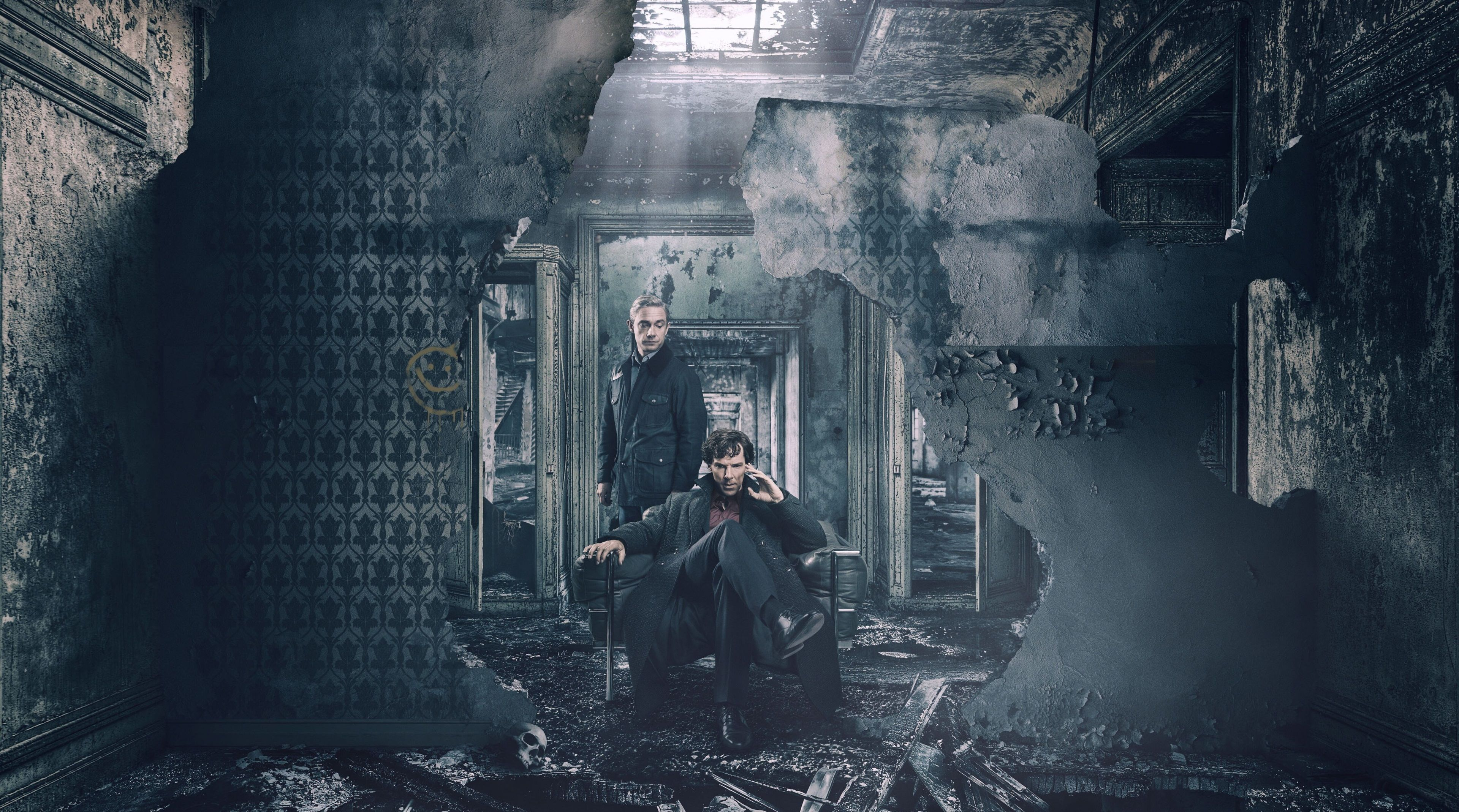 3840x2138 Sherlock Season 4 4k Desktop Wallpaper Hd Quality