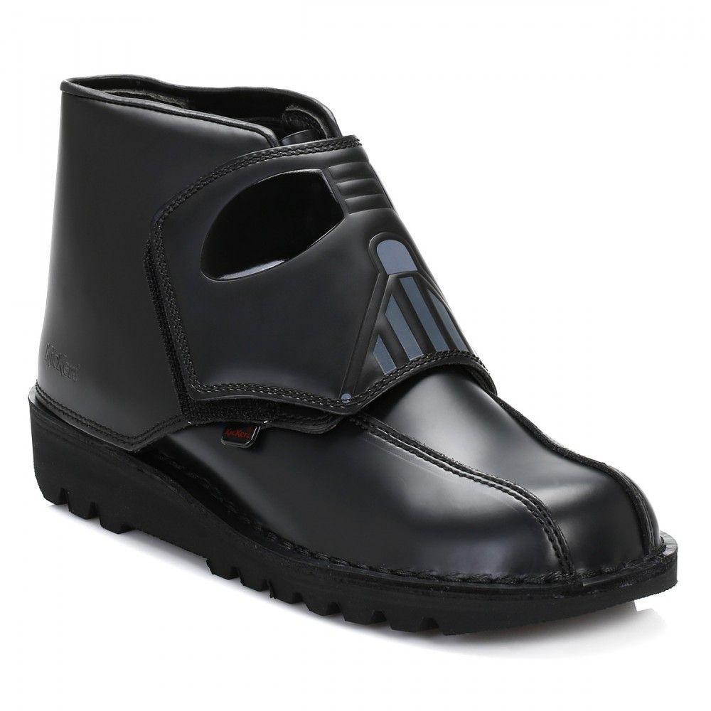 black star wars boots