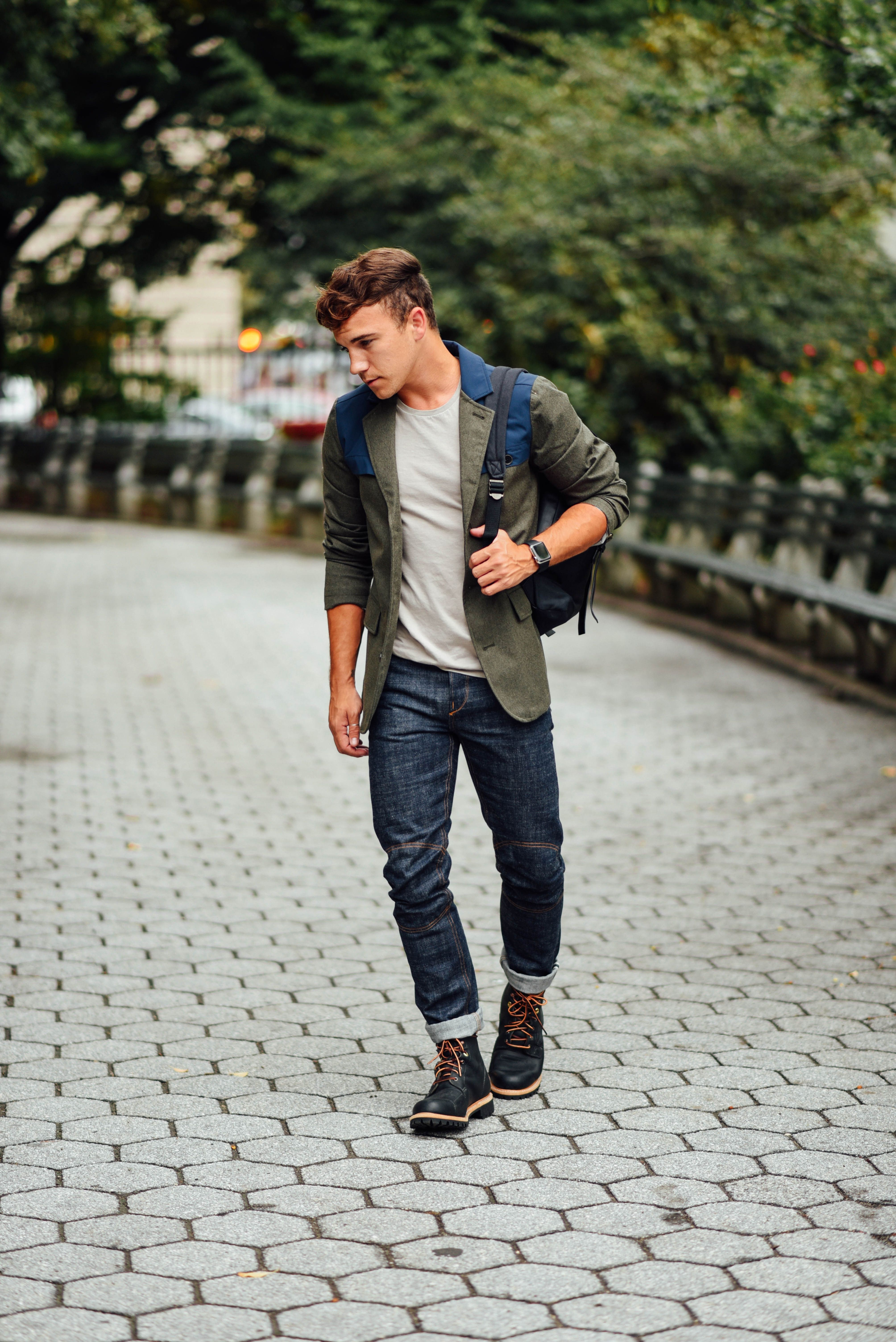 Un Look Urbano Y Juvenil Men Style En 2019 Moda