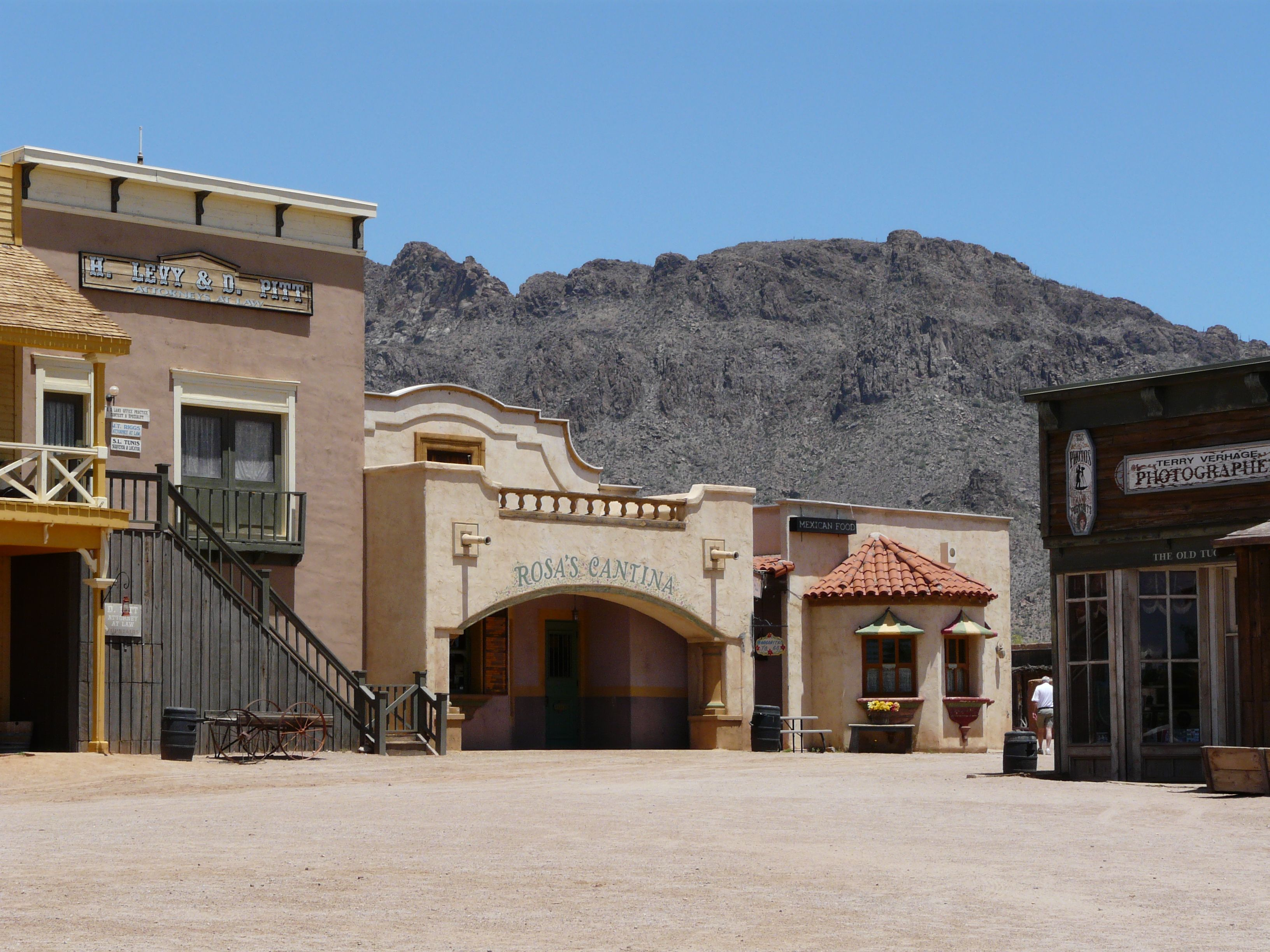 f9487b4450e Old Tucson Western Movie Studio Lot was exciting to tour and ...