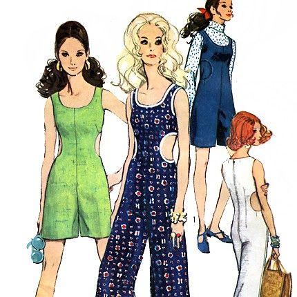 Simplicity 8244 Vintage 60s Misses' Jumpsuit by retrowithlana