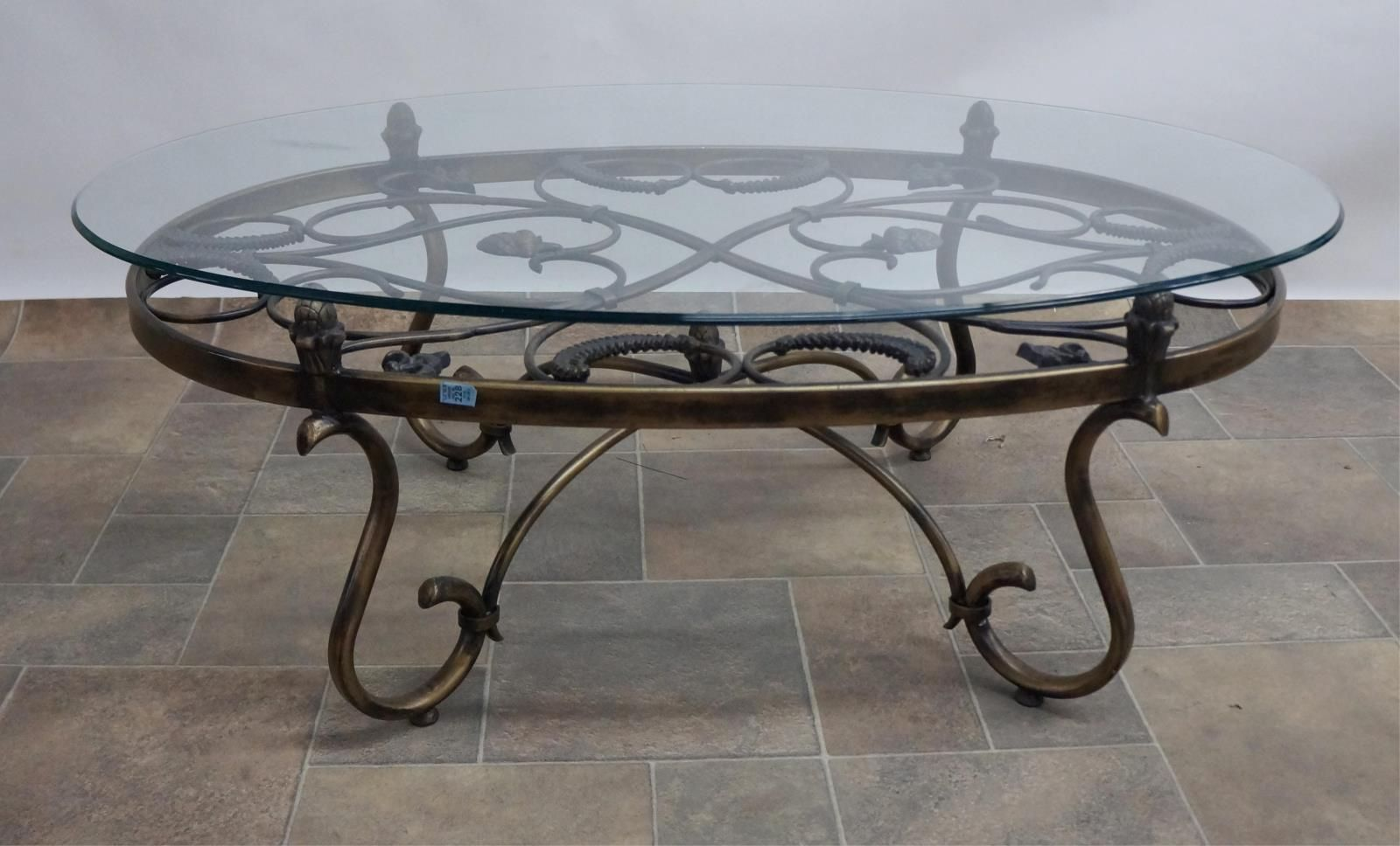 Glass Topped Coffee Tables Wrought Iron Iron Coffee Table Coffee Table Metal Coffee Table [ 788 x 1024 Pixel ]