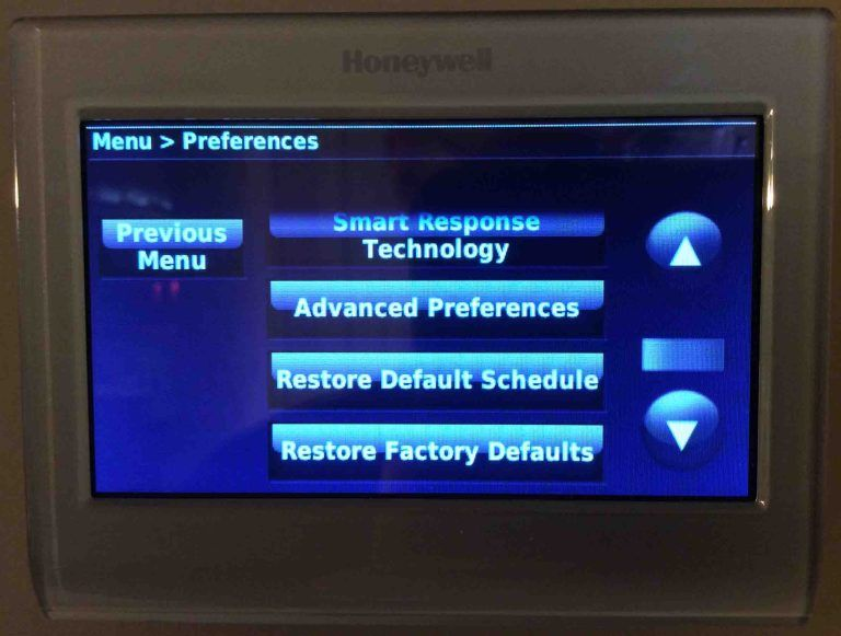 How To Clear Schedule On Honeywell Thermostat Tom S Tek Stop