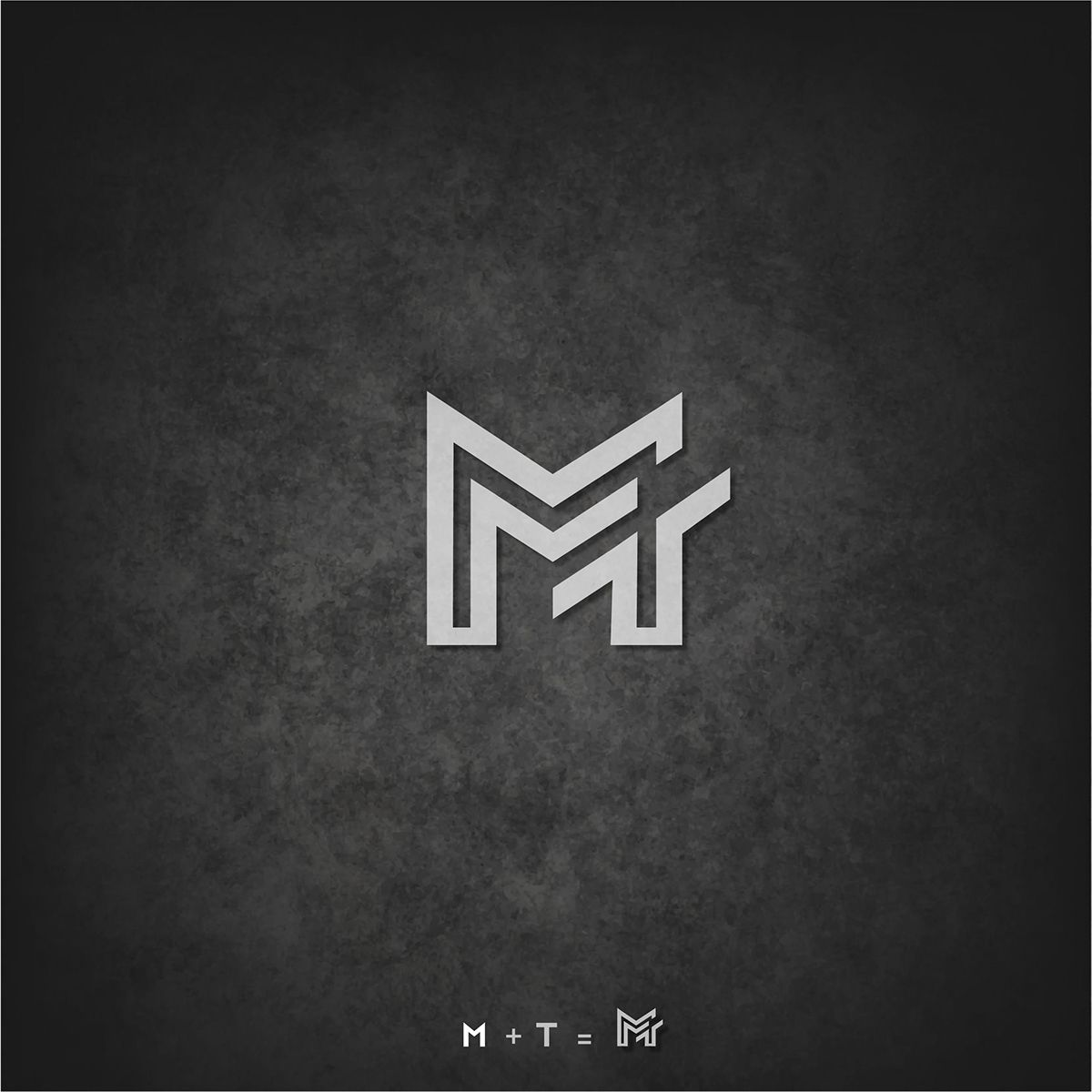 Personal Logo M T On Behance Personal Logo Logos Graphic