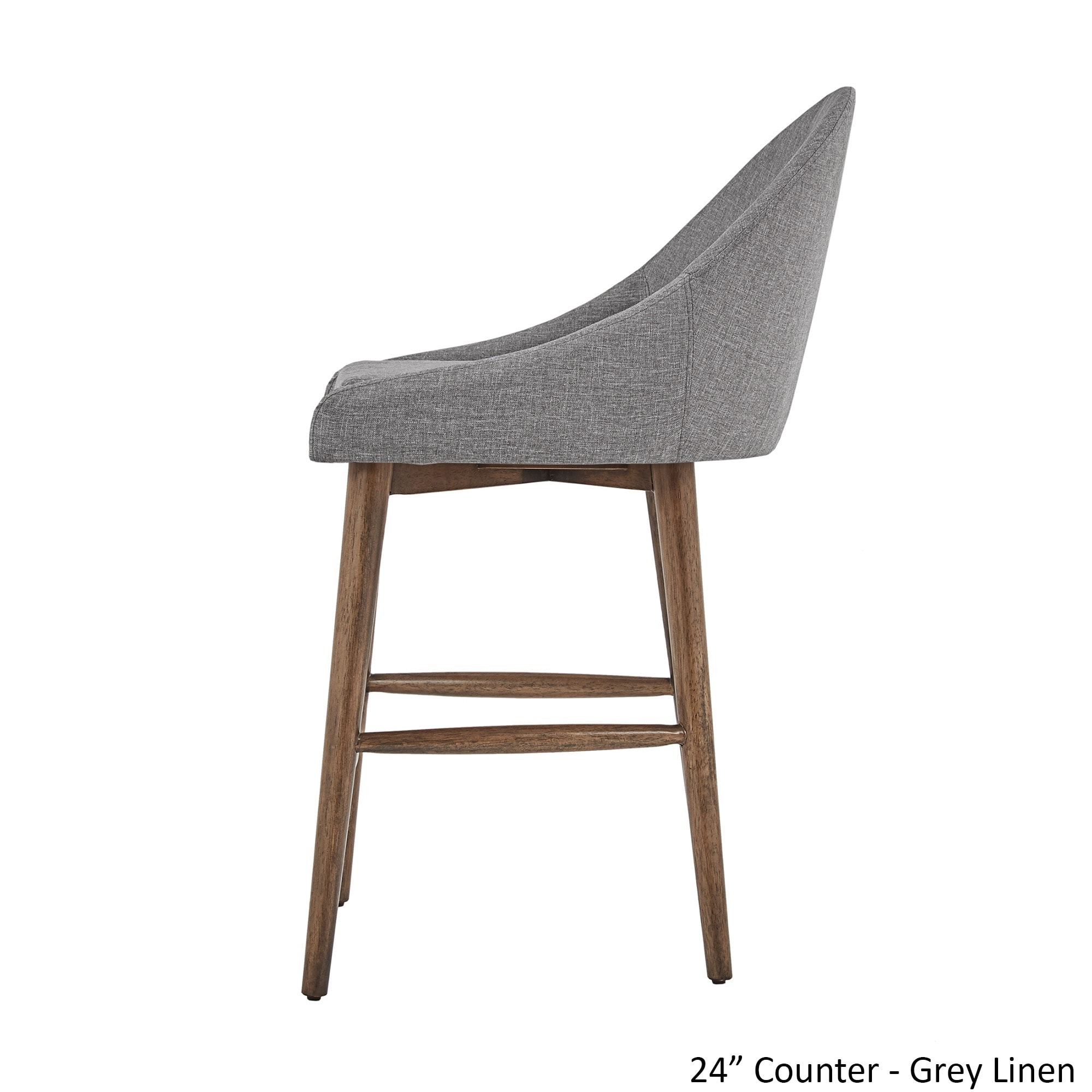 natoma walnut mid century modern wood stool by inspire q modern set rh pinterest com