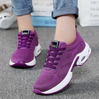 air cushion breathable mesh athletic shoes  38 38