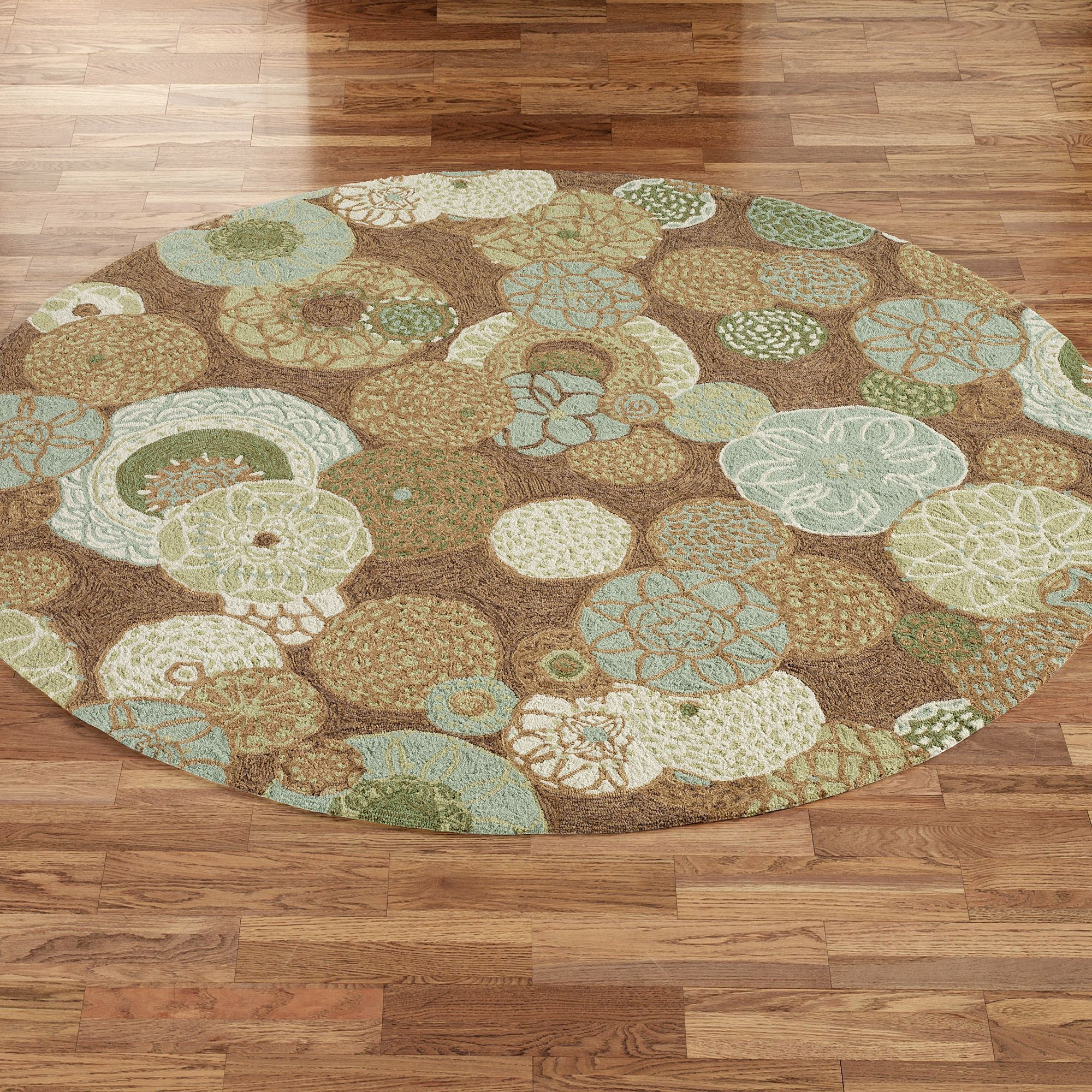 Image of: Round Indoor Outdoor Rugs Style | Round Outdoor Rugs ...