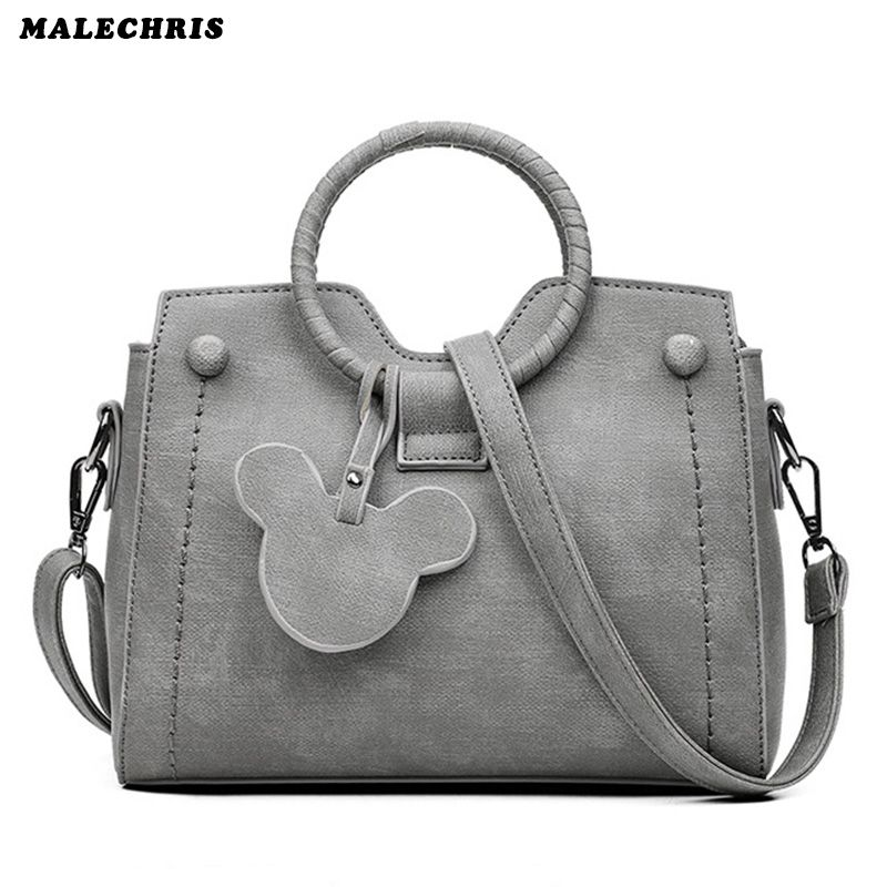 6af57dc2708 Women Handbag High Quality Shoulder Bags Pu Leather Girl Wallet Lady Gray  Color Phone Bag