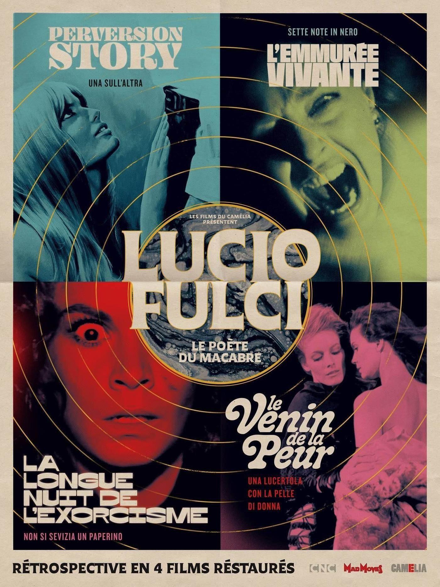 Lucio Fulci Le Poète du Macabre in 2020 Black