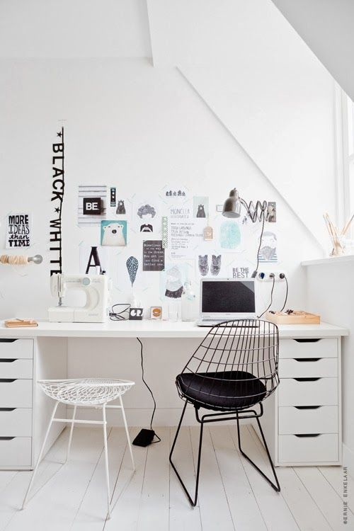 Schreibtisch-Lösung | Schreibtisch | Büros, Büro zimmer und Büro ...