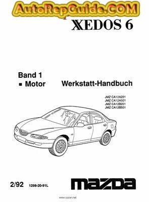 download free mazda xedos 6 workshop manual 1992 workshop rh pinterest com