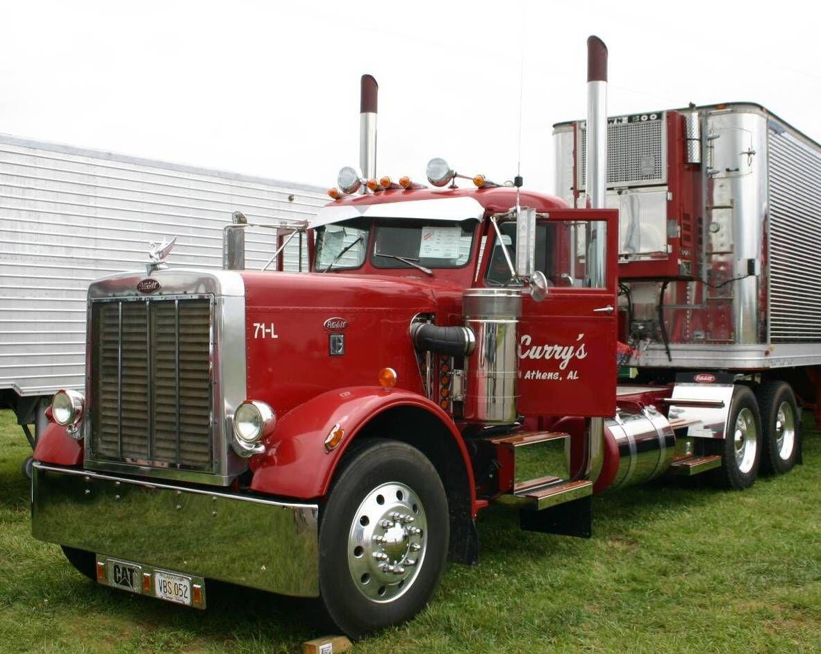 Trucking Trucks, Peterbilt 359, Peterbilt