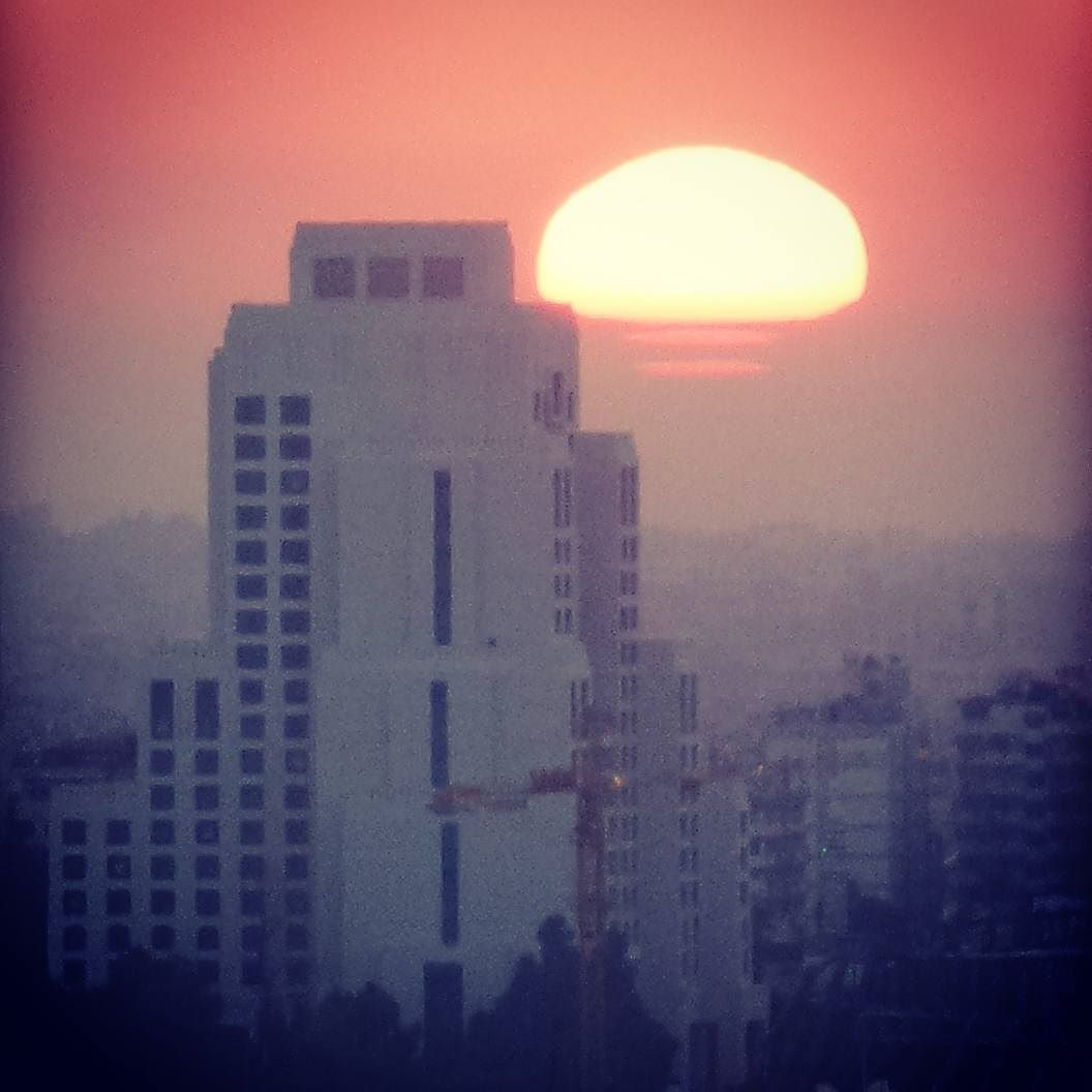 #sunset #damascus #syria #kzoomphonetography #kzoom #sun #sunrise