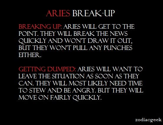 aries break up horoscope