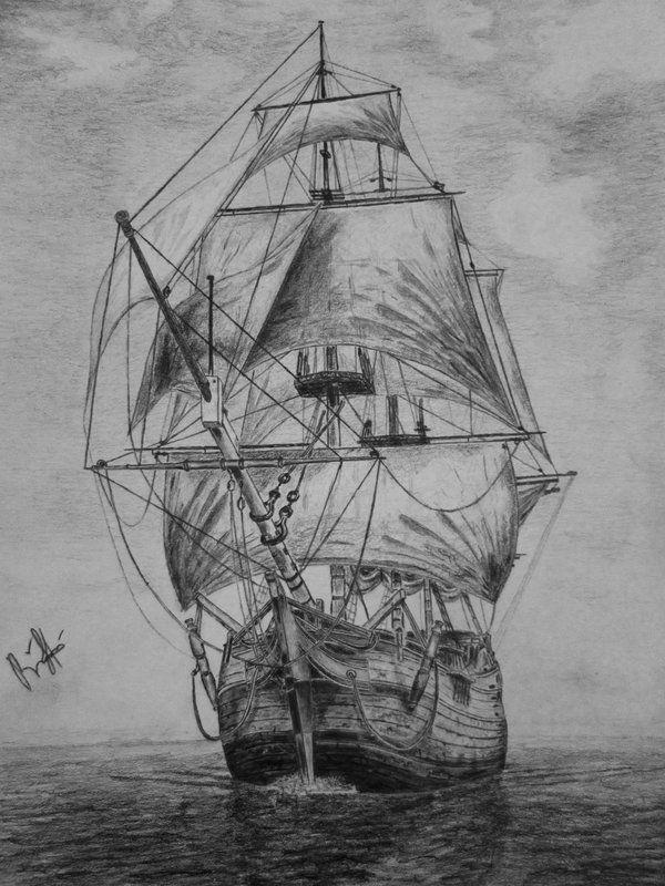 Alte Schiffszeichnungen (mit Bildern)   Schiffszeichnung ...