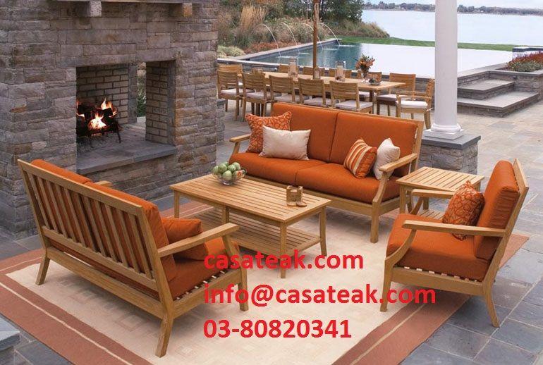 Teak Wood Garden Sofa Malaysia Teakwood Sofaset