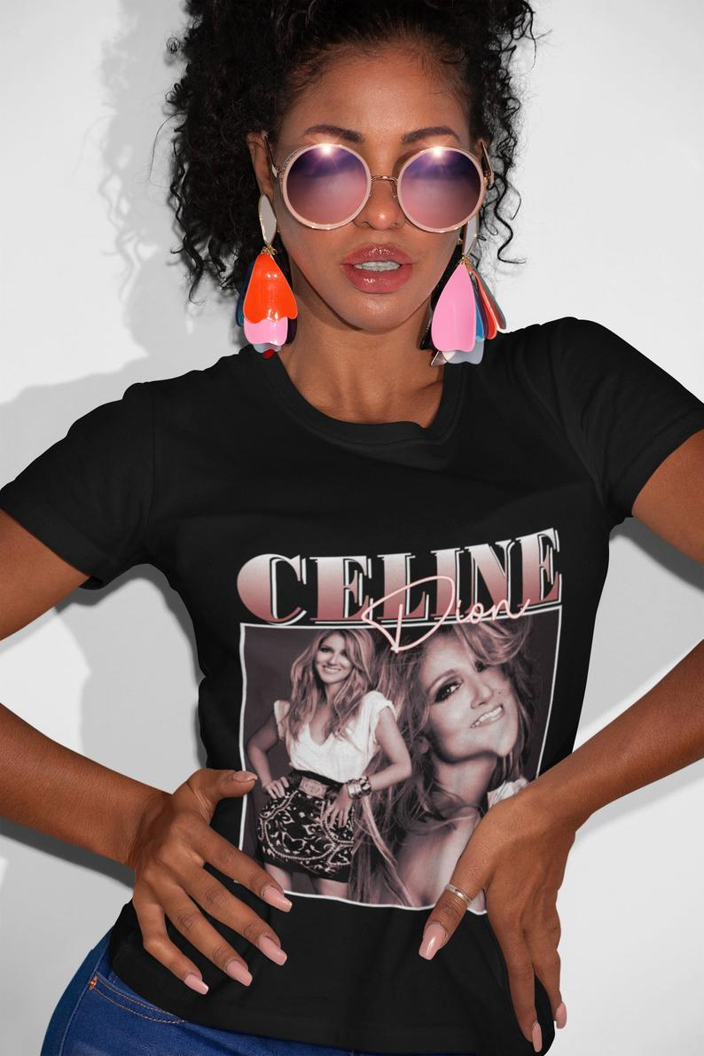 Celine Dion T Shirt Celine Dion Gifts For Your Boss Celine Dion Christmas