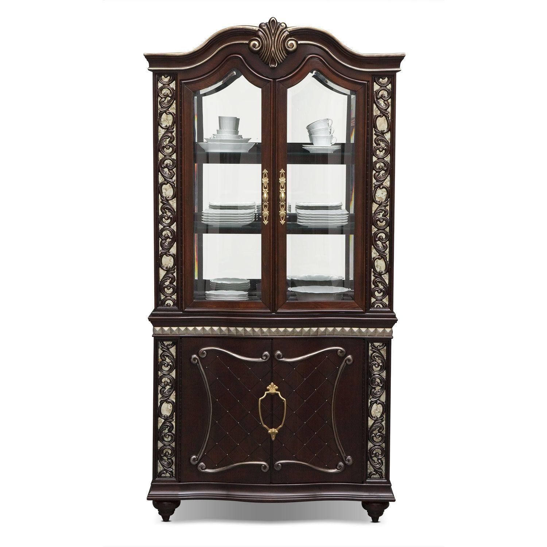 Value city furniture curio
