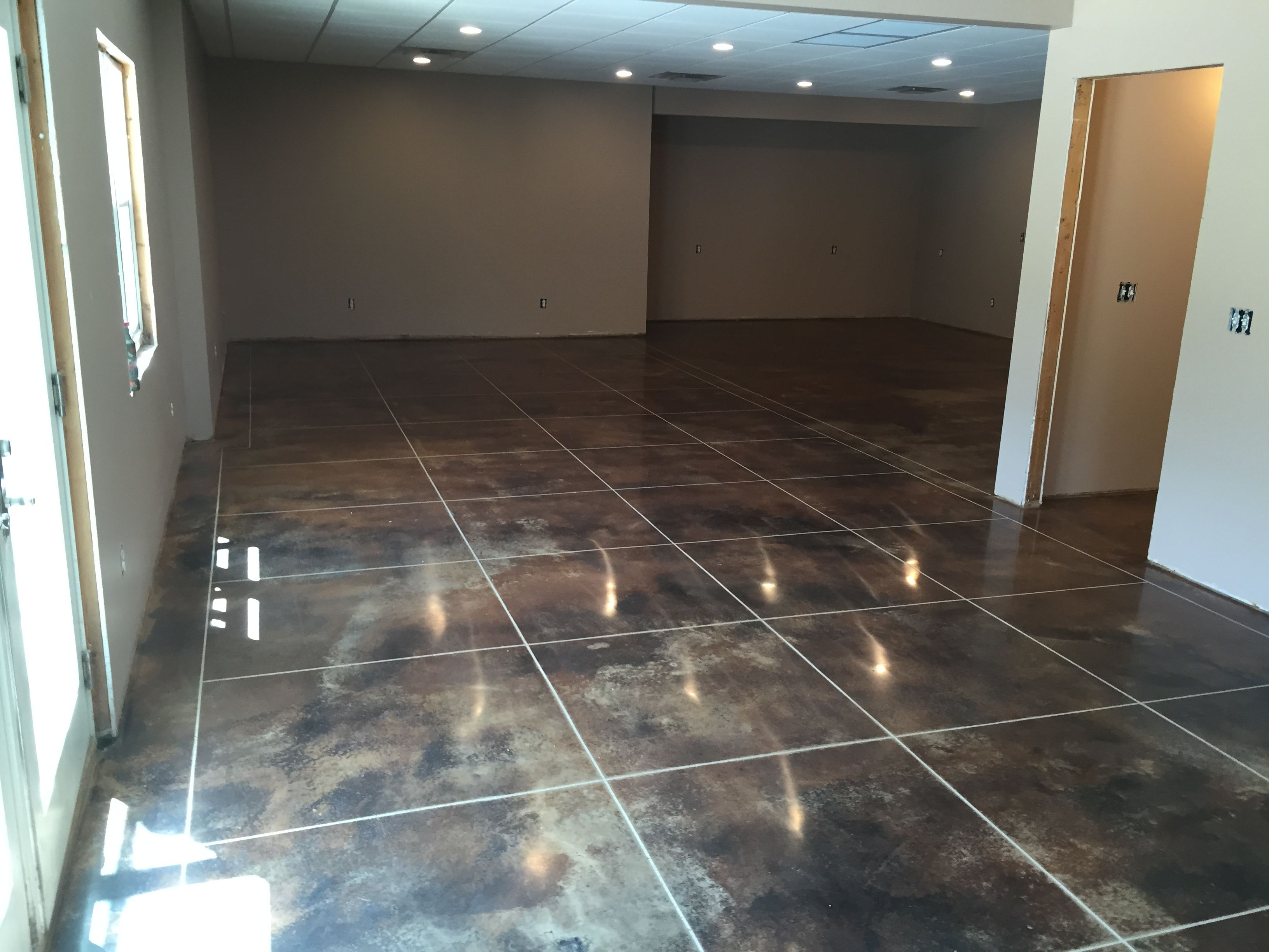 into craig turn concrete let dull do floor staining your pin a yourself piece finishes master it