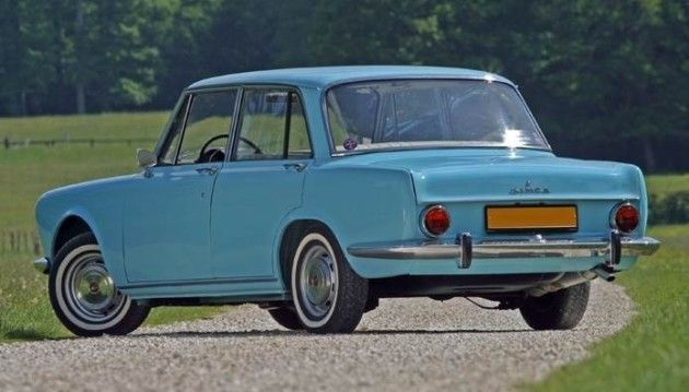 Voiture Simca De 1950 A 1975 stubs-auto - simca 1300/1500 (1963-1975)   voitures françaises