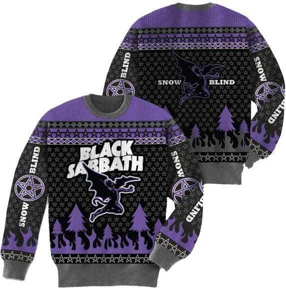Black Sabbath Christmas Sweater.Pin On Wish List