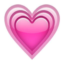 Growing Heart Emoji U 1f497 U E328 Heart Emoji Pink Heart Emoji Emoji