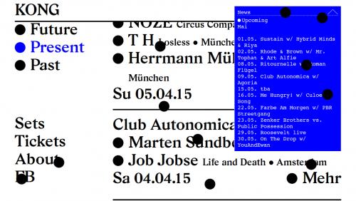 Delectable - Contemporary web design database – KONG