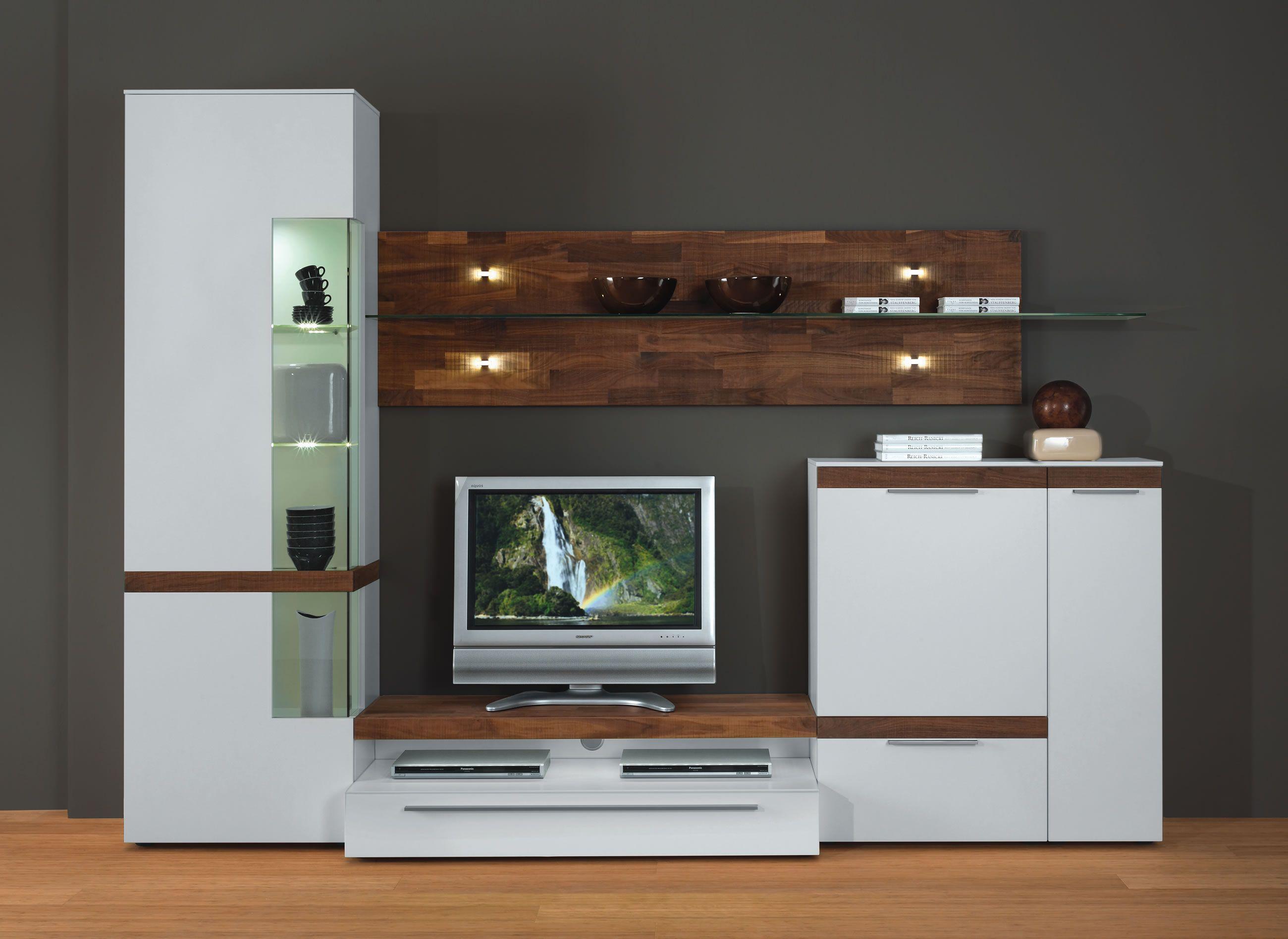 wohnwand gwinner 11  minimalistische möbel