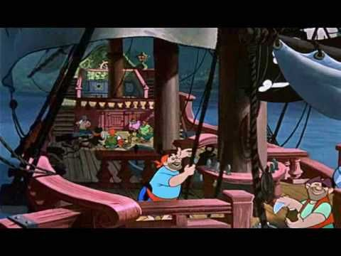 Bij kern 7, Peter Pan: je bent verwent als je zeerover bent