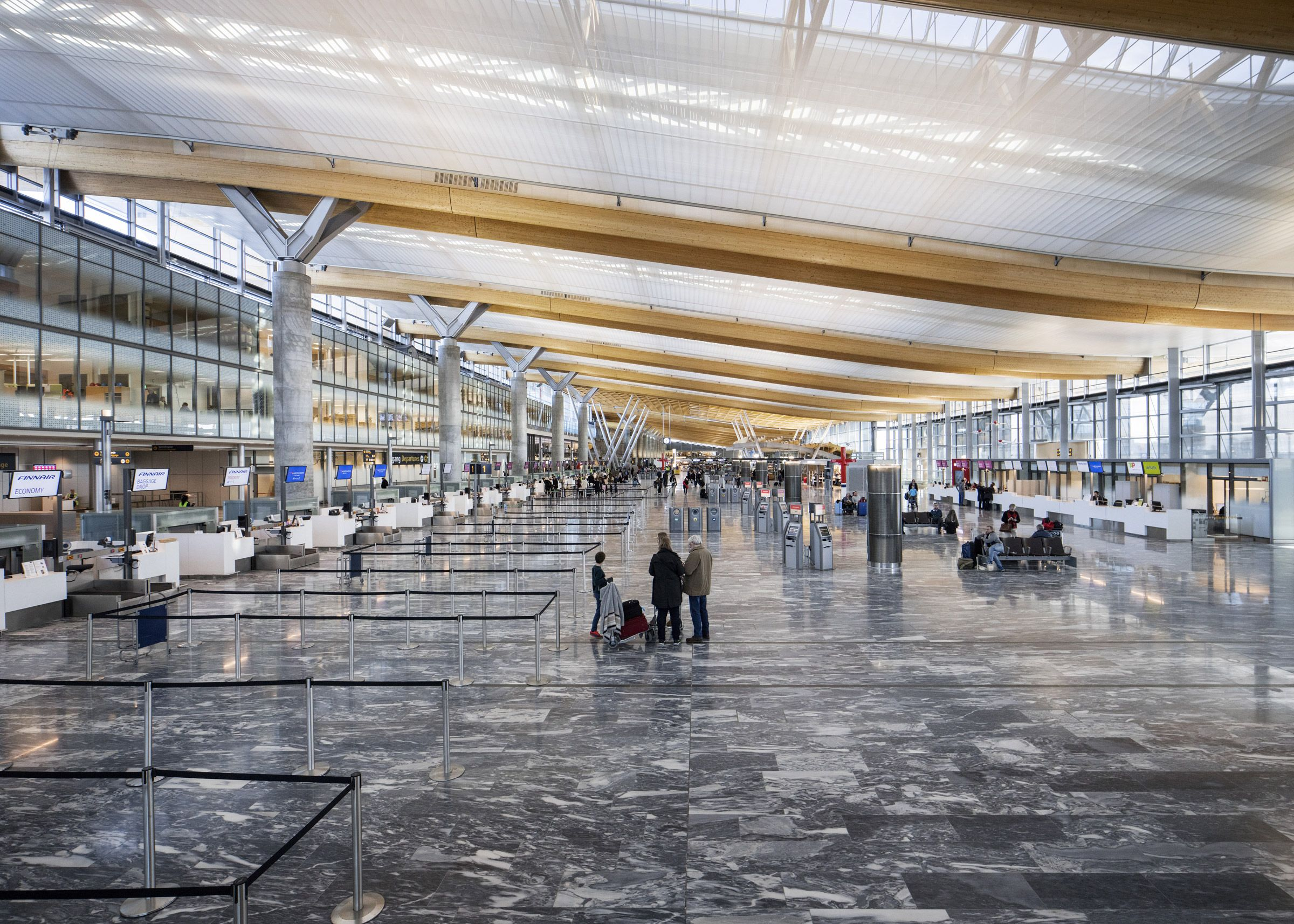 Oslo Airport By Nordic Office Of Architecture In