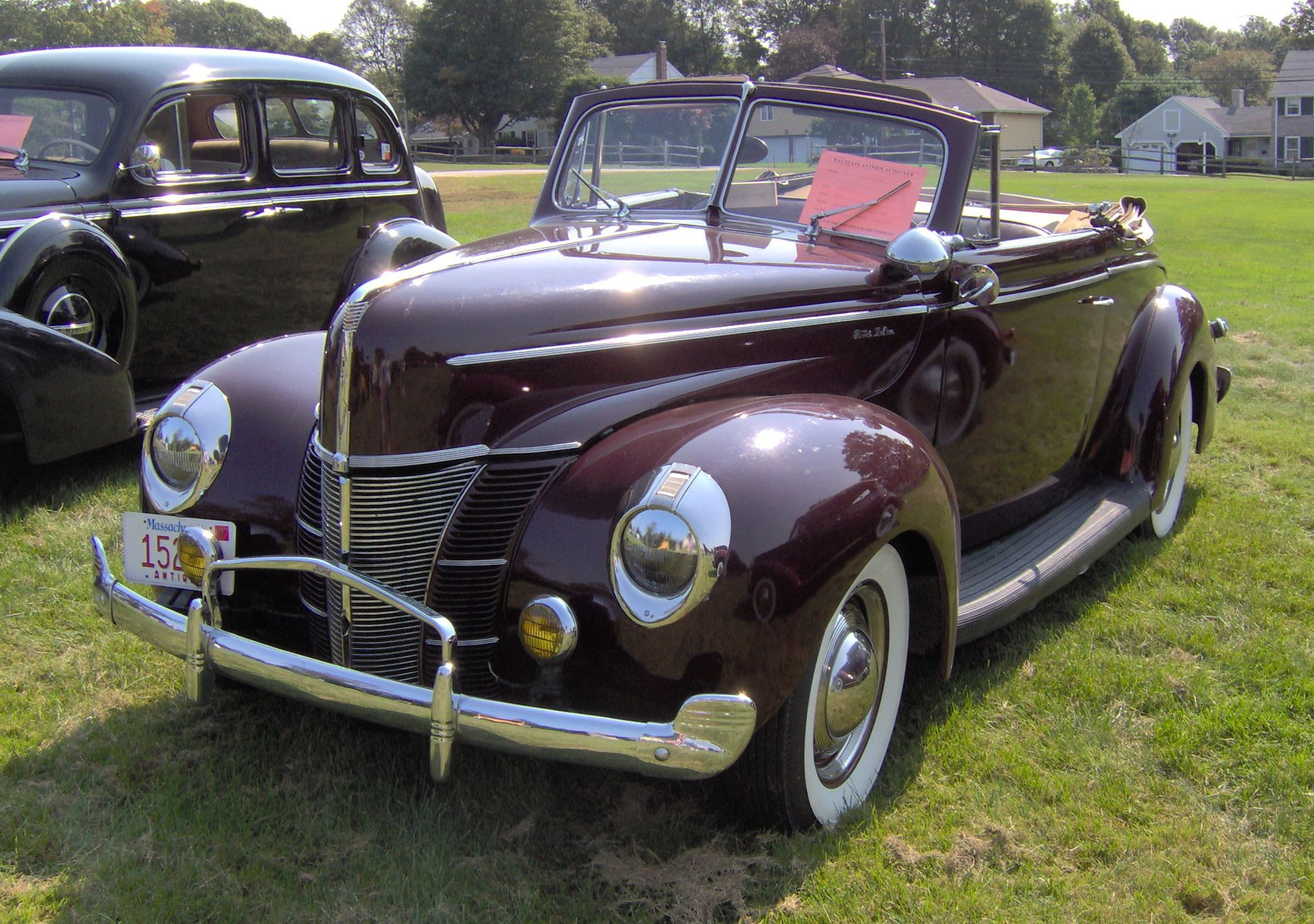 Image Detail for - File:1940 Ford DeLuxe convertible.JPG - Wikipedia ...